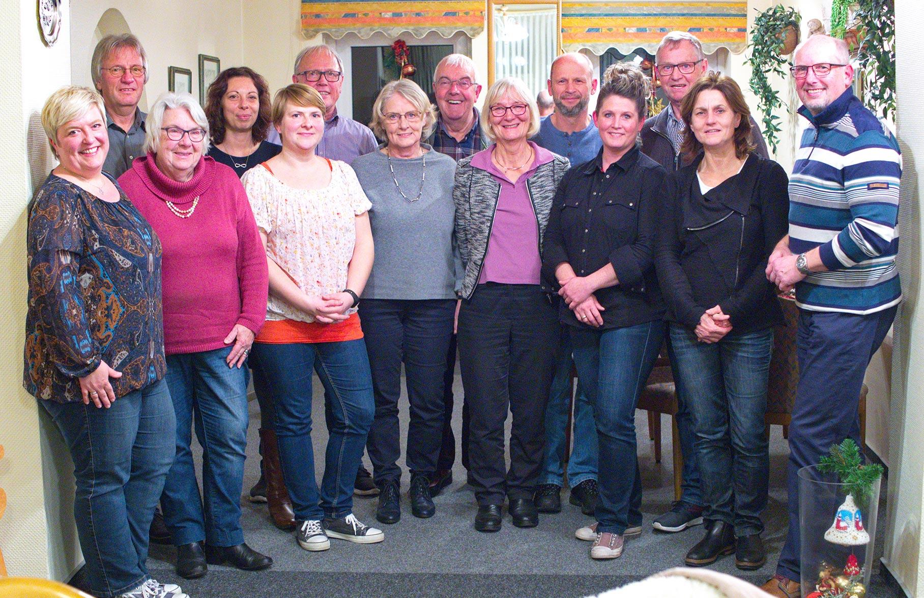 Redakteure aus dem Kirchspiel Medelby