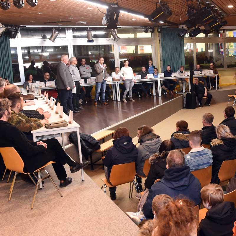Berufsinfo-Abend in der GGS Schafflund