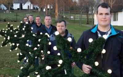 Weihnachtssterne im Kirchspiel 2020