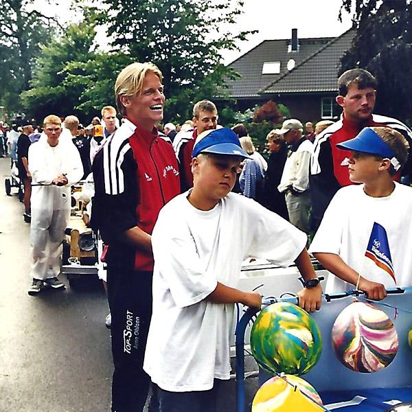 Bettenrennen der IDS Medelby 2002