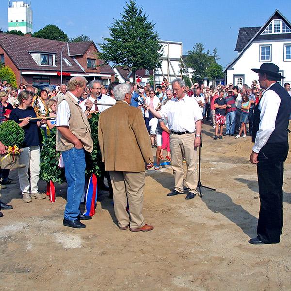 Richtfest Marktreff Medelby 2005