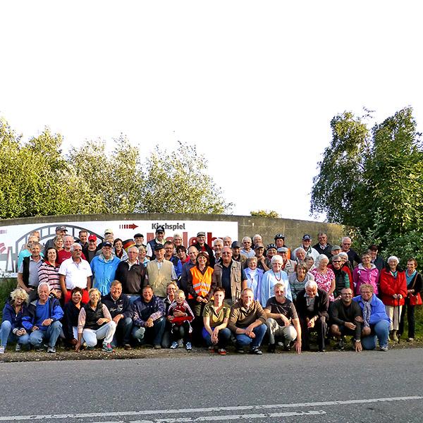 Fahrradtreff IDS Grenzübergang Fehle-Sofiedal 2014