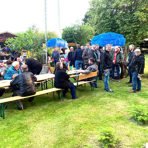 IDS-Buergerstammtischabend in Jardelund 2020